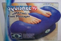 vibrating foot massager as seen on tv TV001 of foot care product