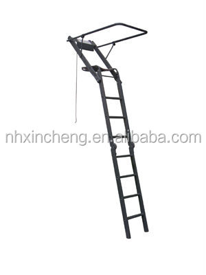 Hunting Equipment 15ft.Aluminum Folding Hunting Ladder Stand Hunting Tree Stand