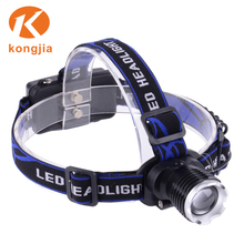 LED Headlamp T6 Rechargeable Outdoor Waterproof Head Torch Light Bike Riding Camping Hunting Headlight