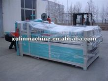 2000/2600mm semi automatic flat type gluing/folding machine
