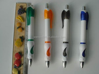 wholesales plastic ballpoint pen welcome logo printing