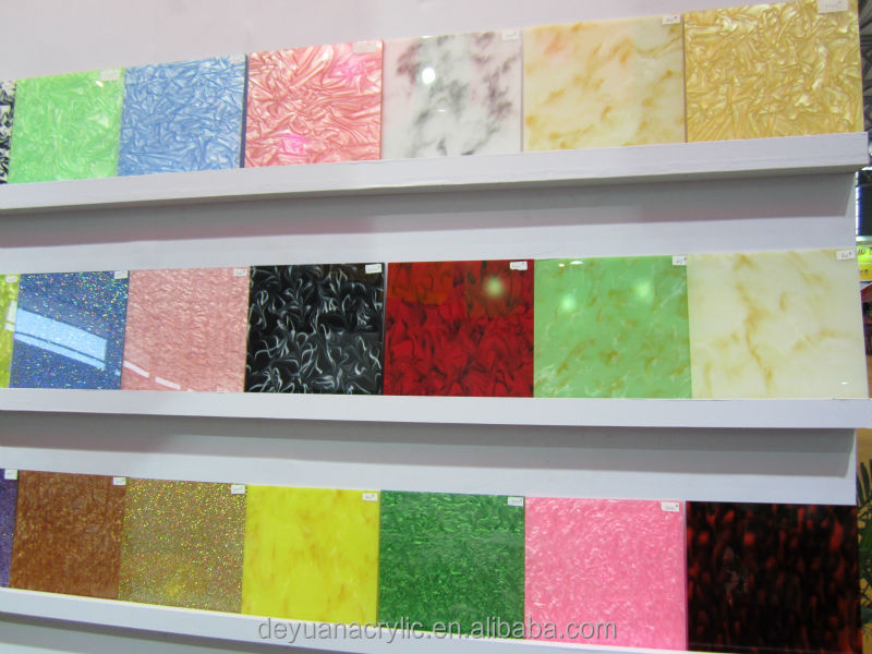 New Floral Decorative Acrylic board/Decoration Marble acrylic sheet