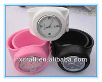 2014 Bundle Monster 12 Piece Jelly Silicone Slap Watch Mixed Color Set with Interchangable Faces