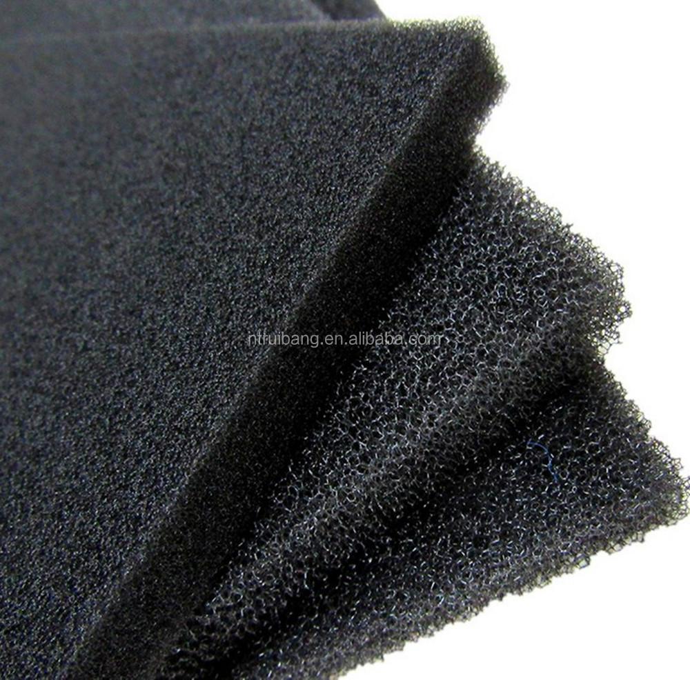 pu schaum bedeckt mit k rnige aktivkohle aktivkohle pu schaum schwamm matratze filter andere. Black Bedroom Furniture Sets. Home Design Ideas