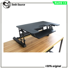 Office Table Using Height Adjustable laptop stand standing workstation computer desk VM-LD02-A1