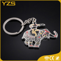 New design zinc alloy material wholesale factory custom metal keychain