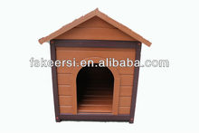 eco-friendly PS wooden dog house wholesale