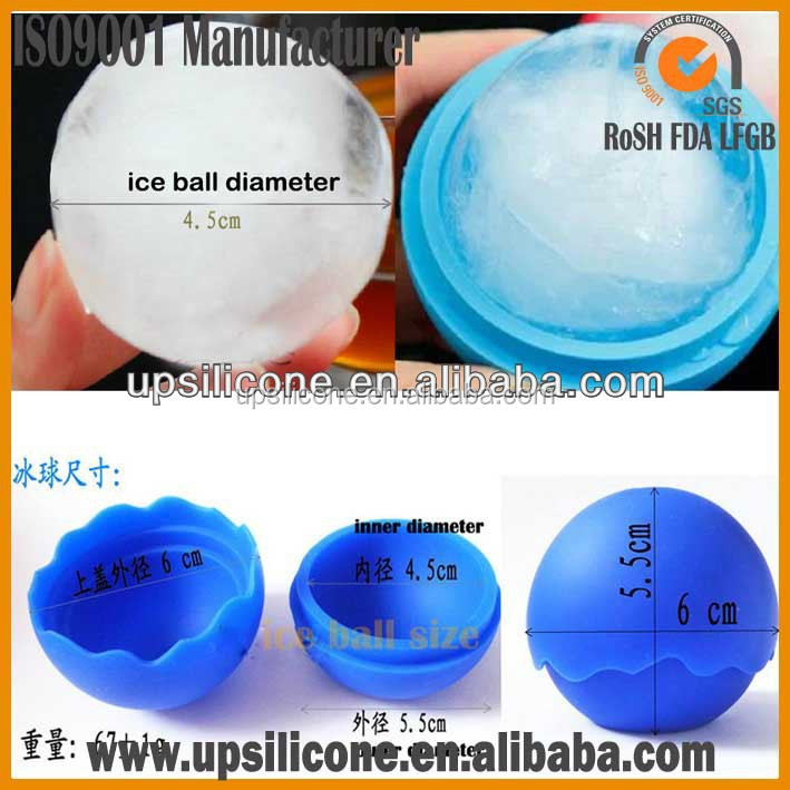 manufacturer of 2016 Hot sell promotional beer silicone ice ball