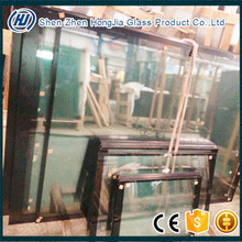 Tempered glass with black border ceramic frit glass