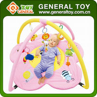 Baby Cushioned Play Mat/ Foldable Baby Play Mat/ Baby Play Mat with Sides