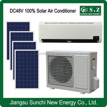 100 dc solar powered split unit how to install a window for 18000 btu window ac units