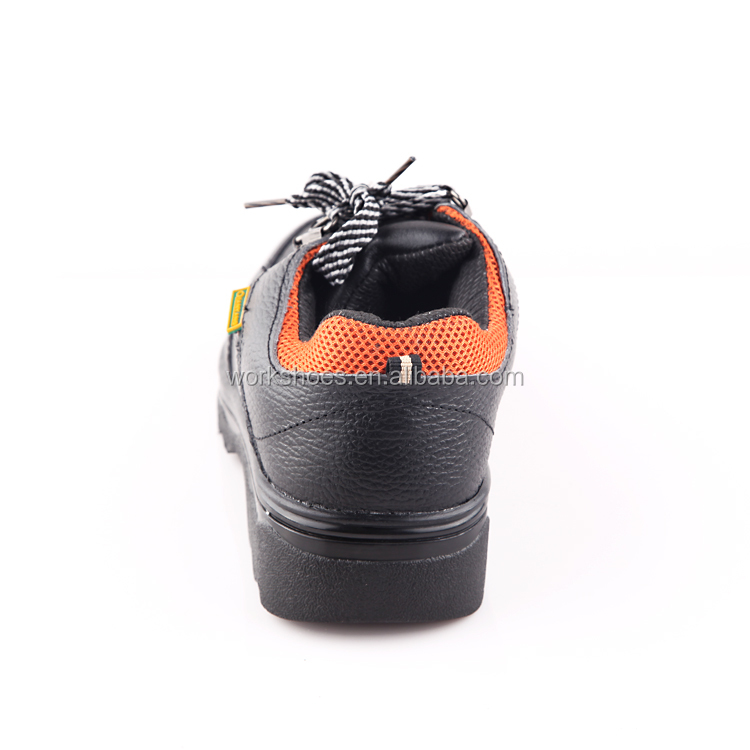 New style leather Steel Toe men safety shoes