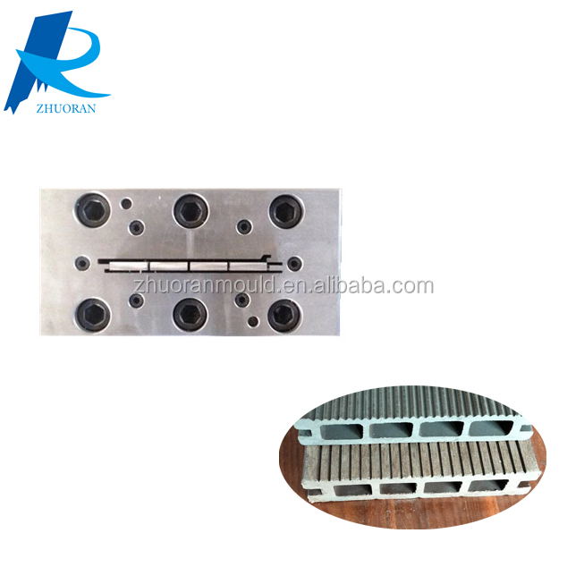 Pe WPC Wood Plastic Composite Decking Floor Extrusion Mould Extrusion Tool for Landsacape Design