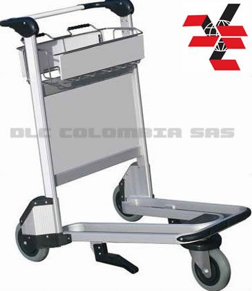 3 Wheel Airport Trolley (Aluminum Alloy) DLC003