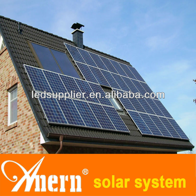 high power 380~850V MPPT Voltage Range 10kw on-grid solar system