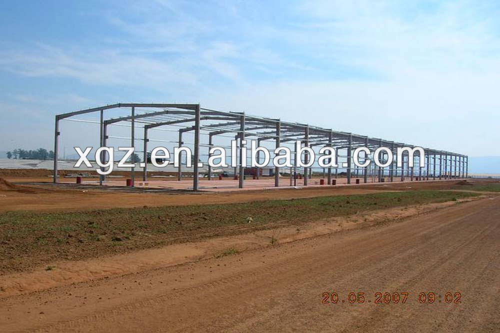 ASTM,JIS,GB,AISI Standard and Light Type design steel structure workshop