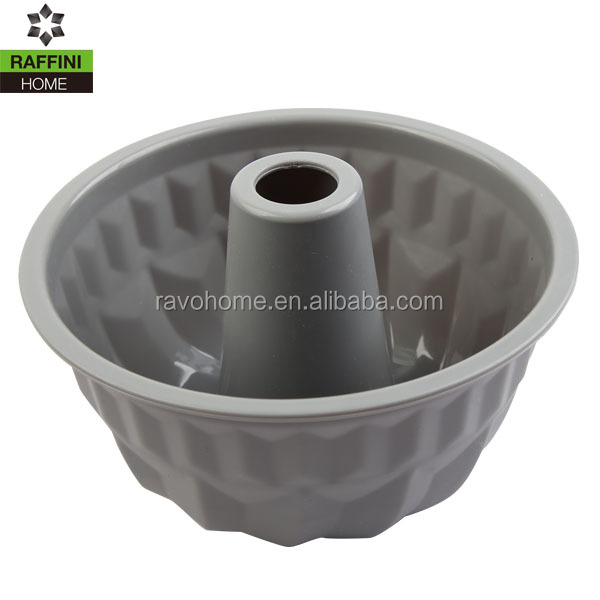 Silicone Fluted Bundt Pan