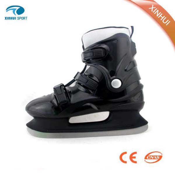 2016 New desgin hot selling high quality black wholesale ice skating