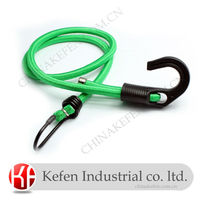 high strength Round bungee cord with plastic hook