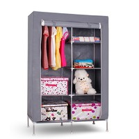S7 high-quality & cheap portable bedroom closet wardrobe cabinets storage closet organizers portable wardrobe