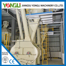 YONGLI complete poultry/livestock cattle chicken pellet feed making machine