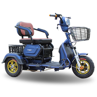 Cheap three wheel electric mobility open body type e trike old person motorcyle