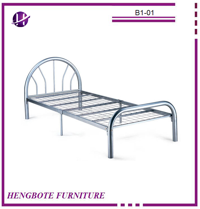Bedroom Used Cheap Metal Bed Single Metal Bed Promotional