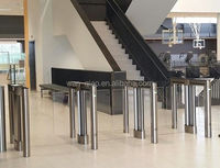 Full Automatic Swing Turnstile with biometrics security system