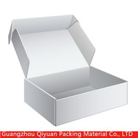 Custom Innovative Corrugated Shoe Storage Box