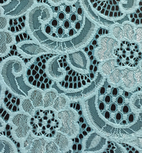 TH-8895 changle knitting lace design heavy lace chemical lace fabric