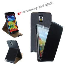 for samsung leather case mobile phone case For samsung galaxy note3 N9000 PU leather flip mobile phone case with stand