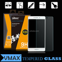 New product!! Band VMAX Anti-broken premium 0.33mm 9H hardness 2.5D smart phone Tempered Glass screen protector for OPPO R7