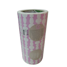 Custom Coated Art Paper Stickers Labels Printing Adhesive Roll Tearable Labels