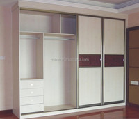 modern bedroom sliding door wardrobe design