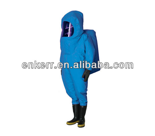 Gas Tight Chemical and Toxic Toxic Proof Clothing