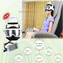 Hot selling as seen on tv relieve headache vibration head and eye electric massager