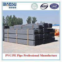 ISO/ASTM/JIS/AS/BS Standard Grey UPVC Pipes (63mm)