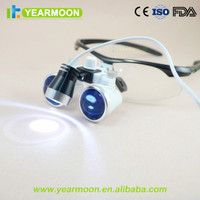 dental loupes with LED headlight 2.5X/3.5X surgical binocular glass