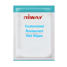 Customized restaurant wet wipes