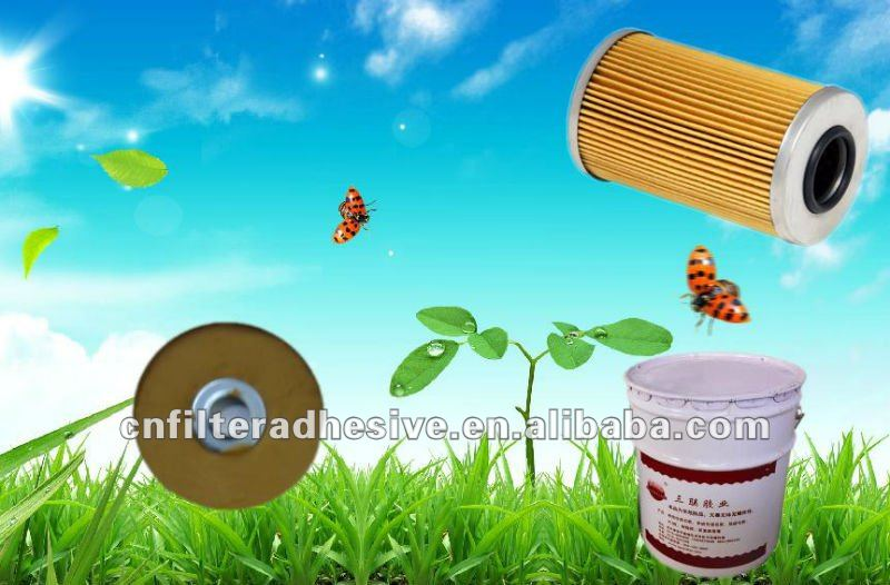 High Strength Diesel Oil Filters Cartridge Adhesive