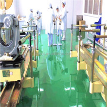 Industrial self-leveling flooring for hospital epoxy floor paint