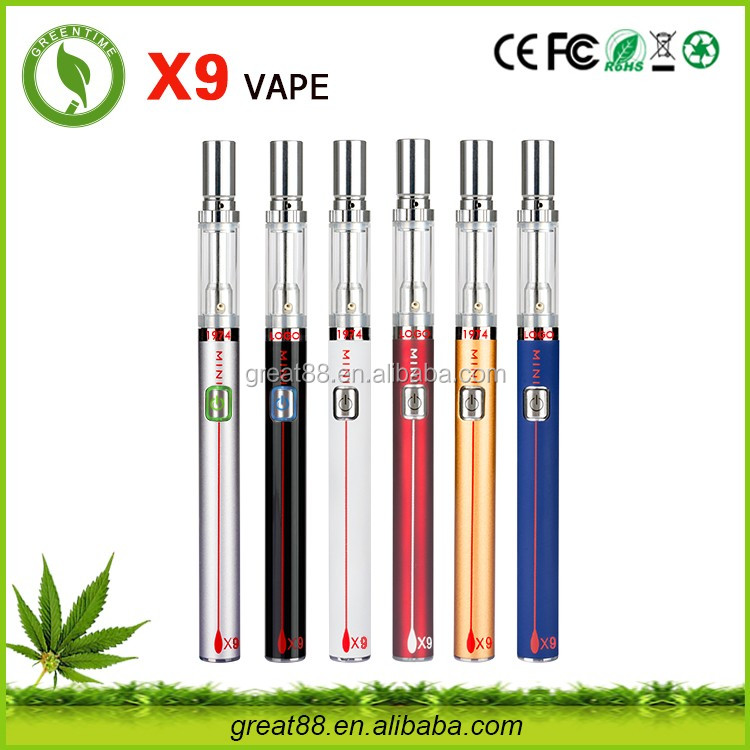 Greentime disposable wax vaporizer pen 510 thread battery bulk cigarette tobacco