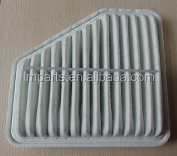 cheap washable universal auto air filter 17801-0H070