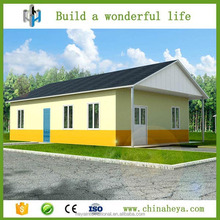 Fashion type modular prefab house for sale in Dominica market areas