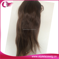 Hot selling stock supply factory price 100 human hair lace front wigs