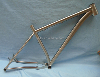 29er titanium mountain bike frame for 3.0 tires