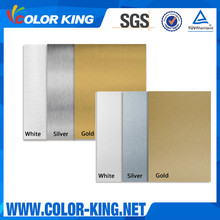 Silver Gold White Colors 0.4MM Sublimation Aluminum License Plate Blank