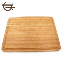 Organic Rectangle Beautiful Thick Lap Cutting Board