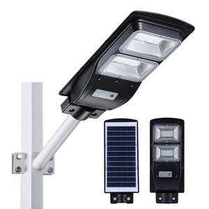 High power 6v IP65 aluminum waterproof SMD 20w 40w 60w all in one solar led street light