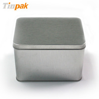 aluminum rectangular metal mixed rice cracker can